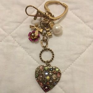 Betsey Johnson Keychain